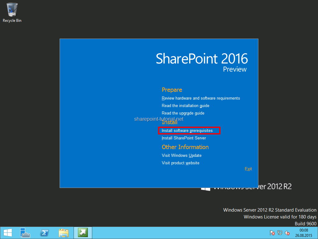 Install SharePoint 2016 - Step by Step