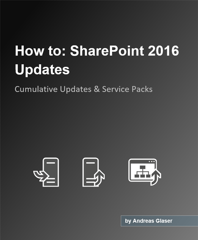 How to install SharePoint 2016 Cumulative and Public Updates